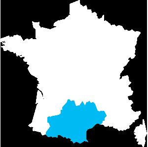 Midi-Pyrénées-Languedoc-Roussillon